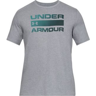 Under Armour TEAM ISSUE WORDMARK Funktionsshirt Herren gray