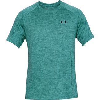 Under Armour TECH Funktionsshirt Herren blue-green