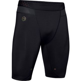 Under Armour RUSH Funktionsshorts Herren black
