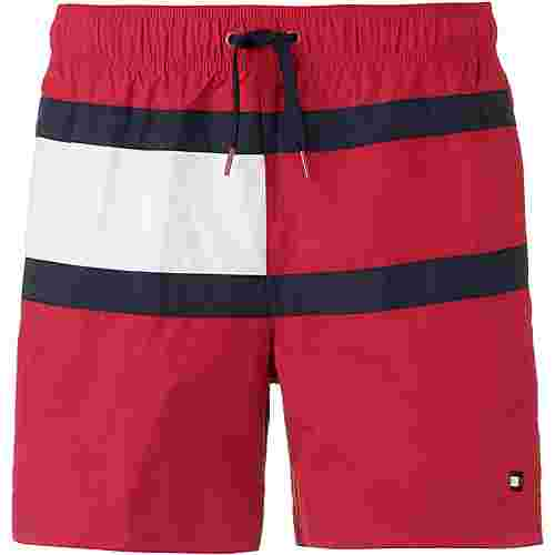 Tommy Hilfiger CORE FLAG Badeshorts Herren tango red