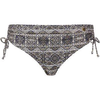 Lascana Bikini Hose Damen schwarz-weiß gold