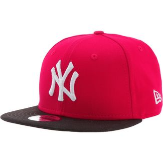 New Era 9FIFTY Cap Kinder scarlet-black-wheat
