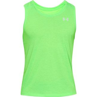 Under Armour Streaker 2.0 Funktionstank Herren zap green