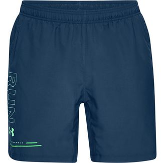 Under Armour SPEED STRIDE BRANDED 7 Laufshorts Herren petrol blue