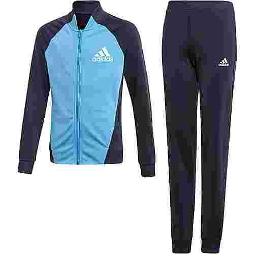 adidas Trainingsanzug Kinder legend ink-lucky blue-white