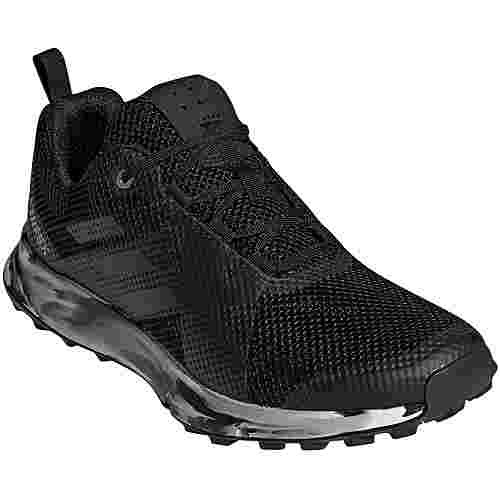 adidas Two Trailrunning Schuhe Damen core black-carbon-ash grey  S18