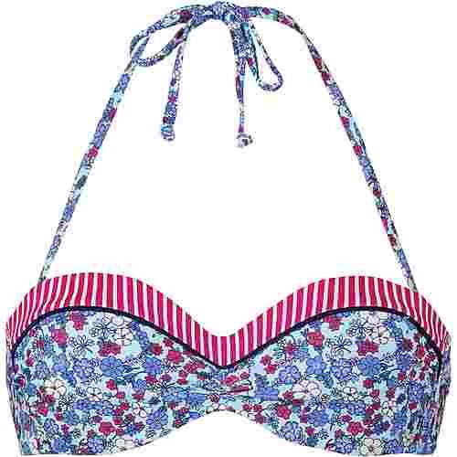 S.OLIVER Bikini Oberteil Damen blau
