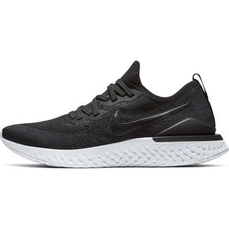 Nike EPIC REACT FLYKNIT 2 Laufschuhe Herren black-black-white