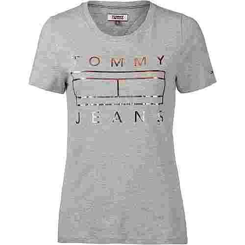 Tommy Jeans T-Shirt Damen light grey heather