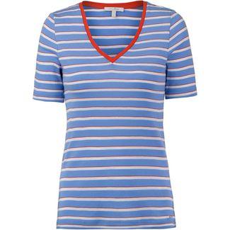 TOM TAILOR T-Shirt Damen sea blue stripe