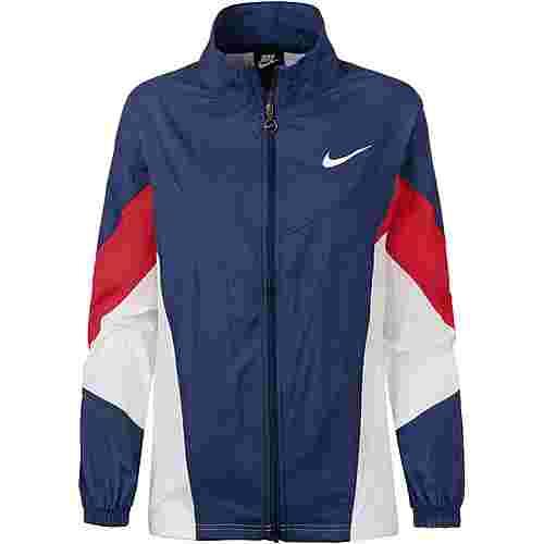 Nike NSW Nylonjacke Damen blue void-university red-white