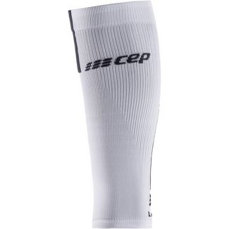 CEP Calf Sleeves 3.0 Kompressionsstrümpfe Herren white-dark grey