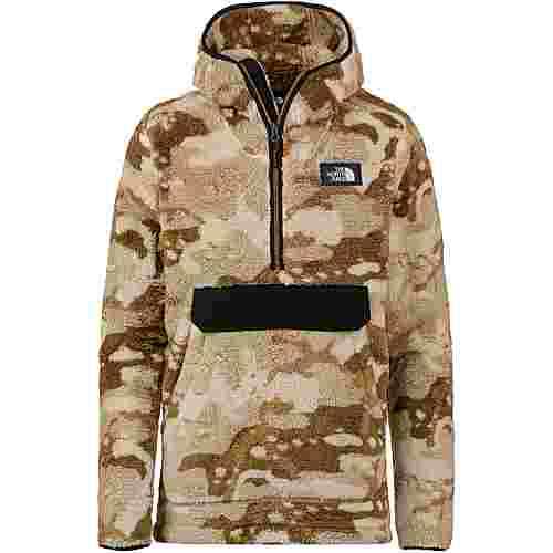 The North Face Campshire Hoodie Herren moab khaki woodchip camo desert print-tnf black