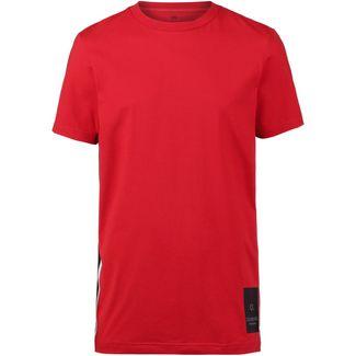 Calvin Klein T-Shirt Herren high risk red-ck black-coconut milk