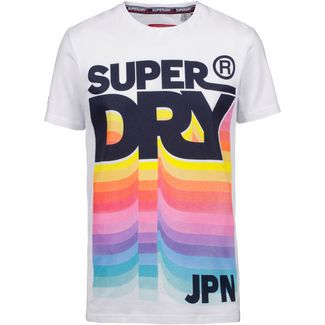 Superdry Retro T-Shirt Herren optic