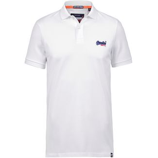 Superdry Mercerised Lite City Poloshirt Herren optic