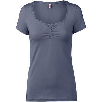 Blutsgeschwister T-Shirt Damen blue skyline