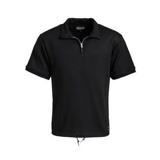 Khujo NICOLAS Poloshirt Herren schwarz
