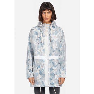 Khujo IRACEMA Regenjacke Damen weiß transparent