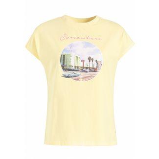 Khujo KRISTOS STREET T-Shirt Damen gelb