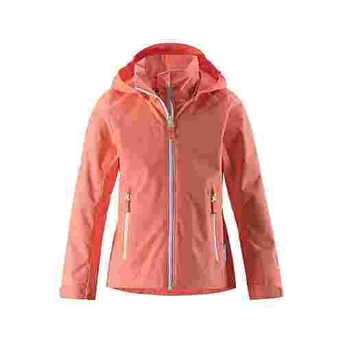 reima Suvi Regenjacke Kinder Coral Pink