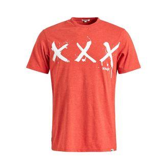 Khujo USLO TRIPPLEX T-Shirt Herren orange
