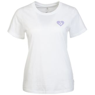 CONVERSE Love The Progress T-Shirt Damen weiß