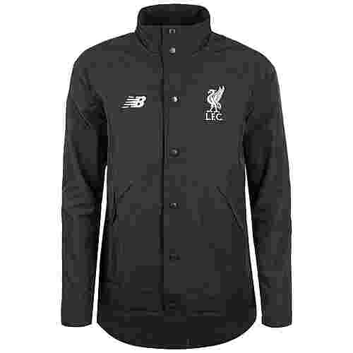 NEW BALANCE FC Liverpool Terrace Trainingsjacke Herren schwarz