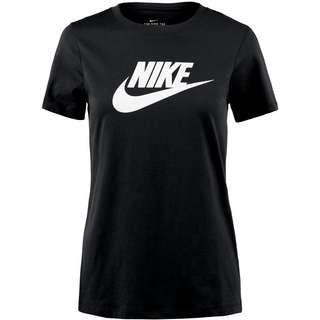 Nike NSW Icon Futura T-Shirt Damen black-white