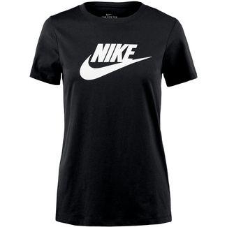 Nike NSW Icon Futura T-Shirt Damen black-white