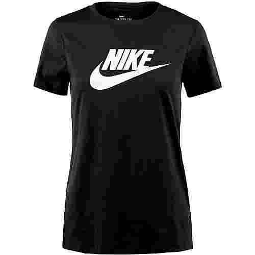 Nike NSW Futura T-Shirt Damen black-white