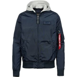 Alpha Industries MA-1 Bomberjacke Herren blue