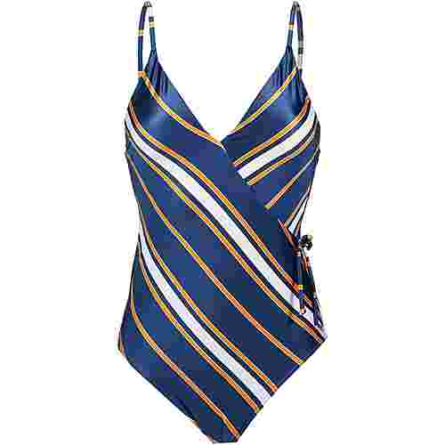 Roxy Romantic Senses Badeanzug Damen medieval blue macy stripe