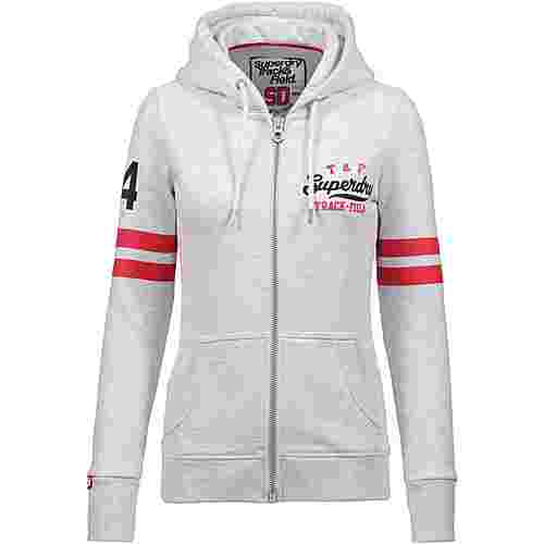 Superdry Track and Field Sweatjacke Damen ice marl
