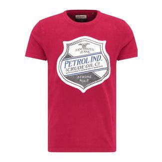 Petrol Industries Printshirt Herren Fire Red