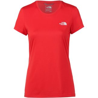 The North Face REAXION AMP CREW Funktionsshirt Damen juicy red-tnf white