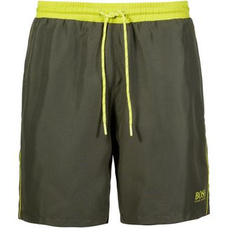 Boss Starfish Badeshorts Herren dark green