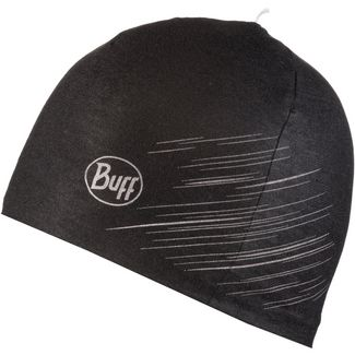 BUFF MICROFIBER REVERSIBLE Beanie r-solid black