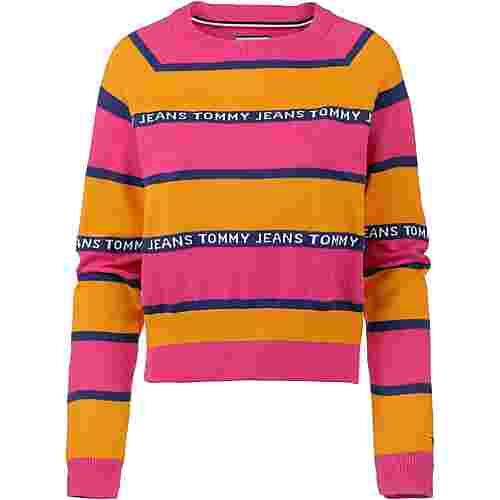 Tommy Jeans Sweatshirt Damen radiant yellow-multi