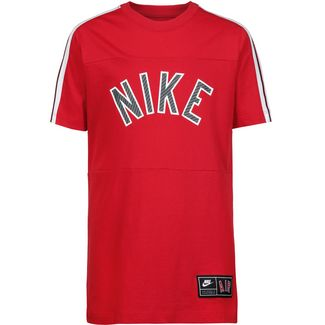 Nike NSW Air S+ T-Shirt Kinder university-red-black