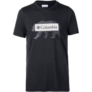 Columbia Box Logo Bear Klettershirt Herren black