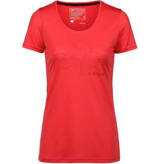 ORTOVOX 150 COOL HUG Funktionsshirt Damen hot coral