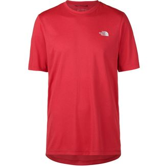 The North Face REAXION AMP CREW Funktionsshirt Herren tnf red heather