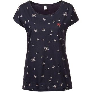 iriedaily Fly Different T-Shirt Damen navy