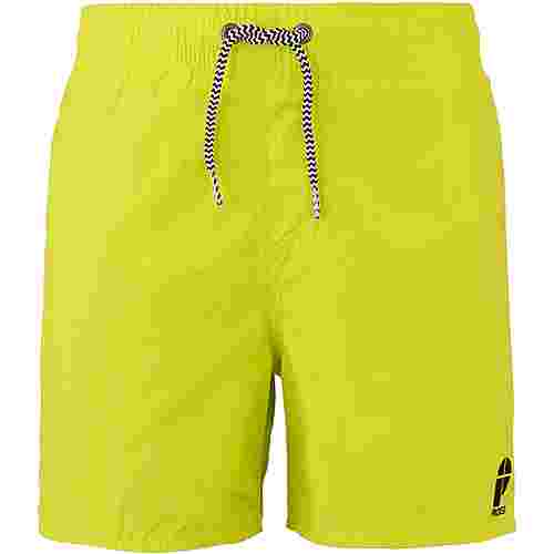 Protest Culture Badeshorts Kinder limone