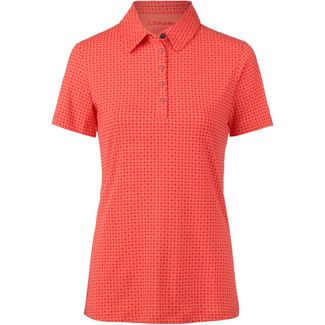 Schöffel Altenberg1 Poloshirt Damen aura orange