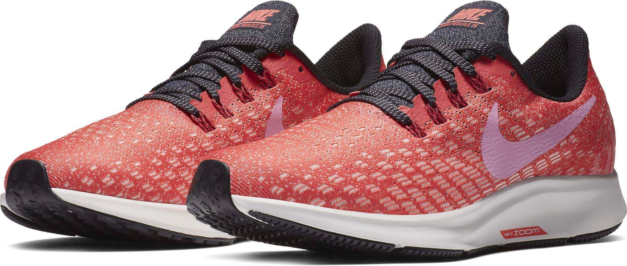Nike Air Zoom Pegasus 35 Laufschuhe Damen ember glow psychic pink oil grey im Online Shop von SportScheck kaufen