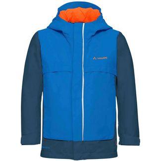 VAUDE Racoon Jacket Funktionsjacke Kinder radiate blue