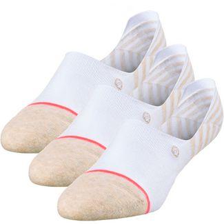 Stance SENSIBLE 3 PACK Sneakersocken Damen white