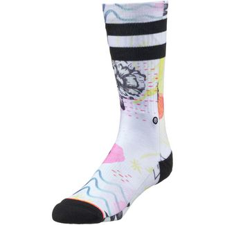 Stance SONIC CREW Sneakersocken Damen white